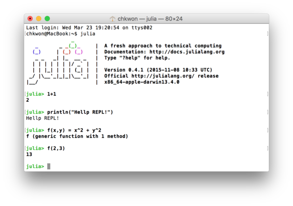 Chapter 1: Introduction and Installation | Julia Programming for