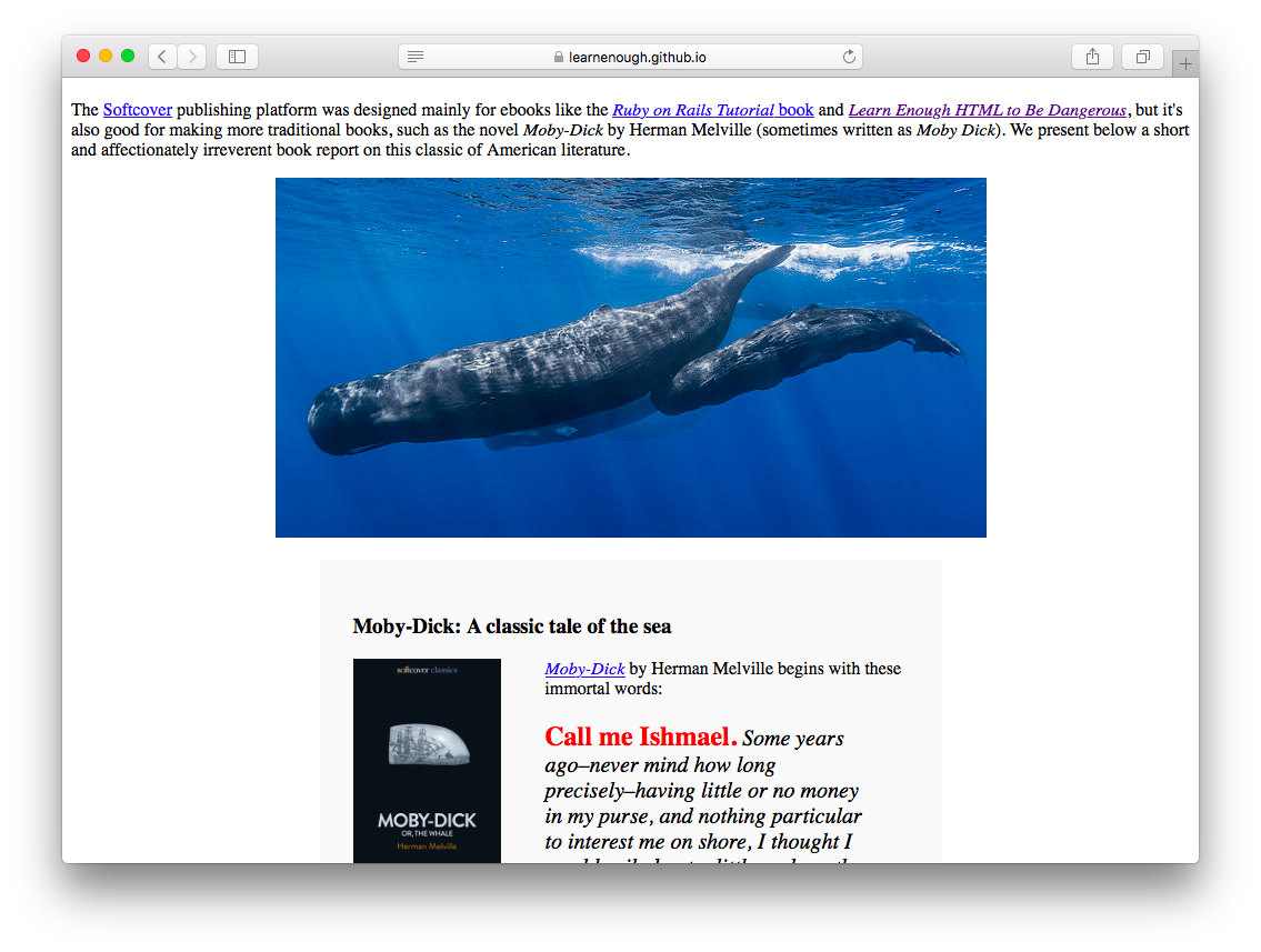 Deployed website