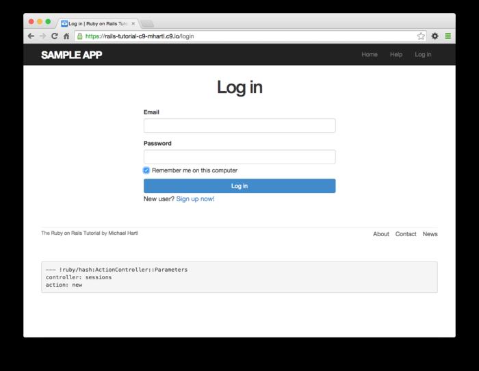 Chapter 9: Advanced login   Ruby on Rails Tutorial (Rails 5
