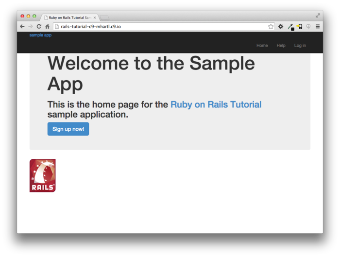 How to create and deploy a simple ruby on rails application.