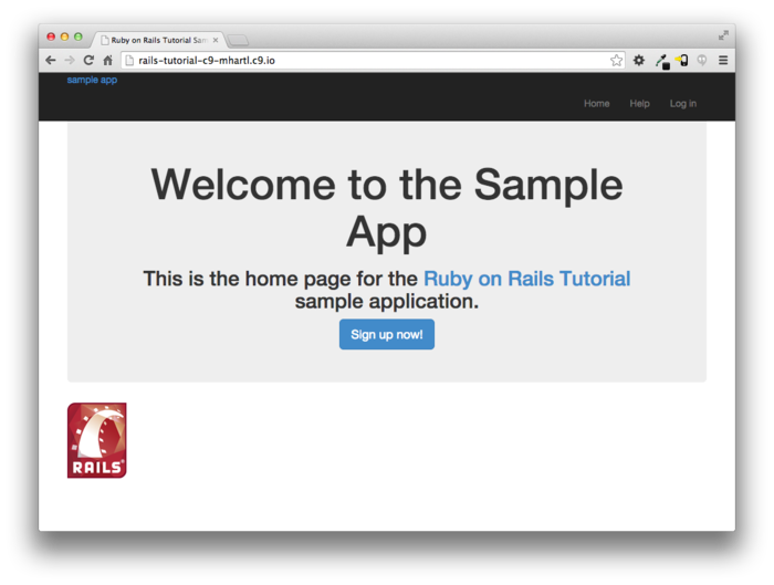 Single page | ruby on rails tutorial | softcover. Io.